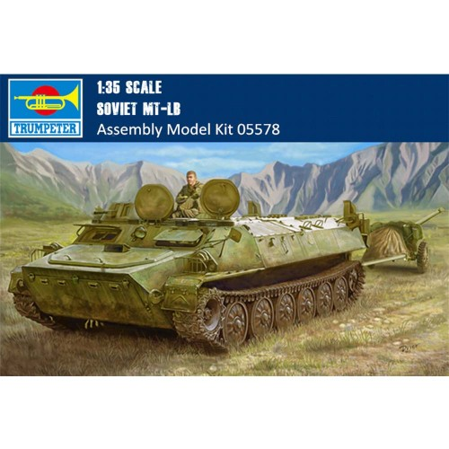 Trumpeter 05578 1/35 Scale Soviet MT-LB Military Plastic Assembly Model Kits
