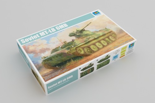Trumpeter 05580 1/35 Scale Soviet MT-LB 6MB Military Plastic Assembly Model Kits