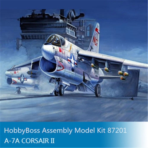 HobbyBoss 87201 1/72 Scale USA A-7A Corsair II Attack Aircraft Military Plastic Assembly Model Kits