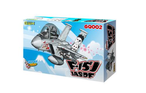 Great Wall Hobby GQ-002 F-15J JASDF Fighter Q Edition w/Pilot Assembly Model Snap Kits