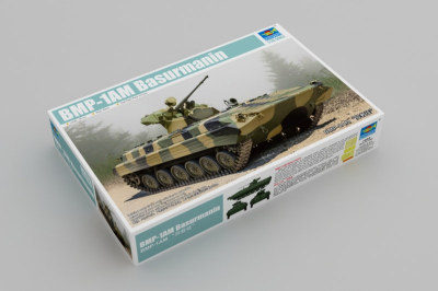 Trumpeter 09572 1/35 Scale BMP-1AM Basurmanin Military Plastic Assembly Model Kits