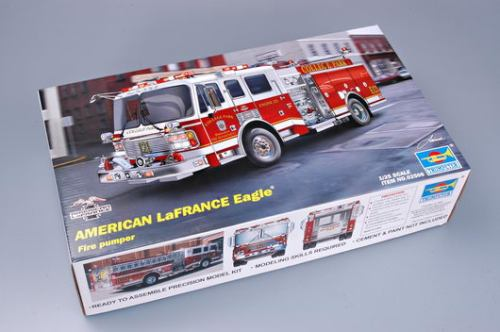 Trumpeter 02506 1/25 Scale American Lafrance Eagle Fire Pumper 2002 Plastic Assembly Model Kits