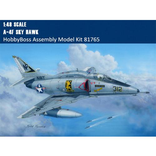 HobbyBoss 81765 1/48 Scale A-4F Sky Hawk Military Plastic Aircraft Assembly Model Kits