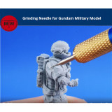 0.4mm Grinding Needle Tools for Gundam Military Model Hobby Craft Kits handle can choose