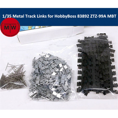 1/35 Scale Metal Track Links w/metal pin for HobbyBoss 83892 PLA ZTZ-99A MBT Model SX35007