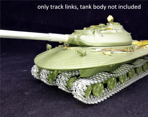 1/35 Scale Metal Track Links for Soviet Heavy Tank Object 279 Model w/metal pin need assemble SX35005