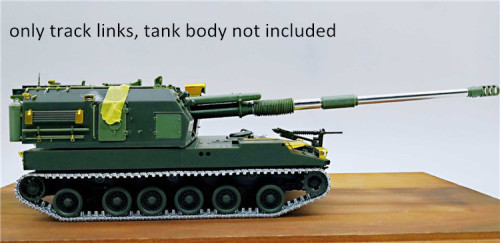 1/35 Scale Metal Track Links for Chinese PLZ05 155mm Self Propelled Howitzer w/metal pin need assemble SX35015
