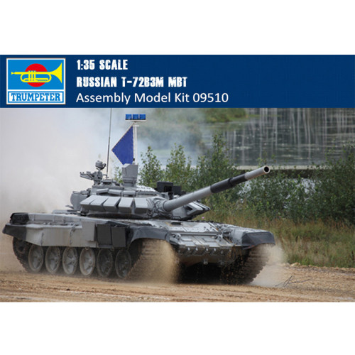 Trumpeter 09510 1/35 Scale Russian T-72B3M Main Battle Tank Military Plastic Assembly Armor Model Kits