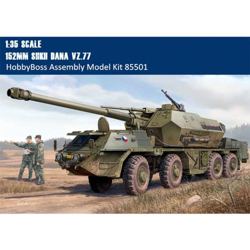 HobbyBoss 85501 1/35 Scale 152mm ShkH DANA vz.77 Plastic Military Assembly Model Building Kits