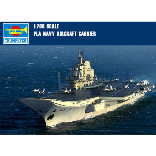 Trumpeter 06703 1/700 Scale Chinese PLAN Aircraft Carrier LiaoNing Varyag Military Plastic Assembly Model Kits