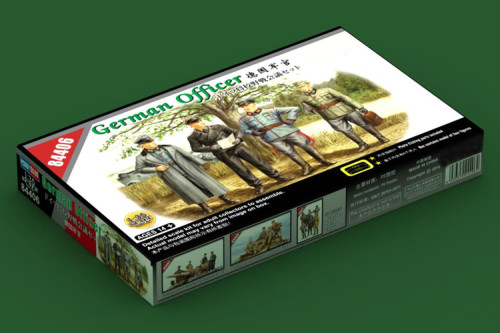 HobbyBoss 84406 1/35 Scale German Officer Soldiers Figures Military Plastic Assembly Model Kits