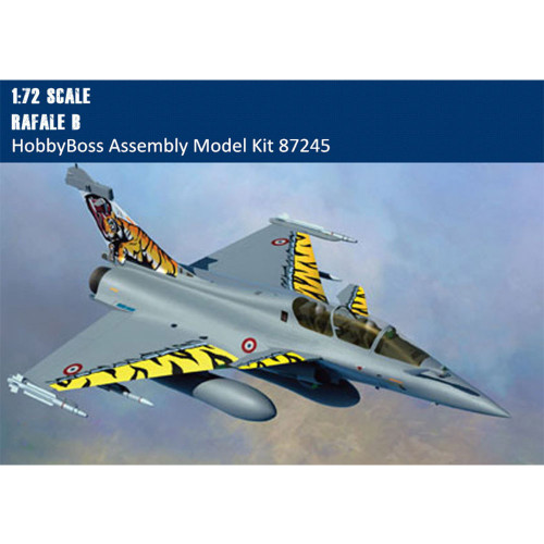 HobbyBoss 87245 1/72 Scale French Rafale B Fighter Military Plastic Aircraft Assembly Model Kits