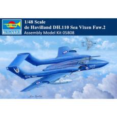Trumpeter 05808 1/48 Scale de Havilland DH.110 Sea Vixen Faw.2 Military Plastic Aircraft Assembly Model Kits