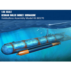 HobbyBoss 80170 1/35 Scale German Molch Midget Submarine Military Plastic Assembly Model Kits