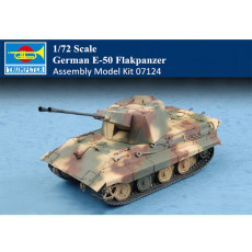 Trumpeter 07124 1/72 Scale German E-50 Flakpanzer Military Plastic Assembly Model Kits