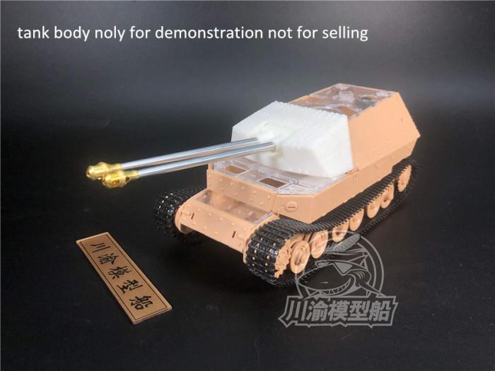 1/35 Scale Metal Barrels Muzzle Brake Set for Amusing Hobby 35A030 Sd.Kfz.184 Ferdinan Tank Model Kits