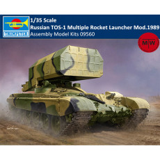 Trumpeter 09560 1/35 Scale Russian TOS-1 Multiple Rocket Launcher Mod.1989 Plastic Assembly Model Kits