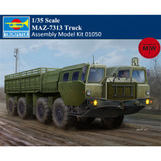 Trumpeter 01050 1/35 Scale MAZ-7313 Truck Military Plastic Assembly Model Kits