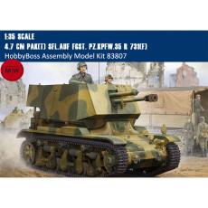 HobbyBoss 83807 1/35 Scale 4.7 cm Pak(t) Sfl.auf Fgst. Pz.Kpfw.35 R 731(f) Military Plastic Assembly Model Kits