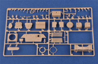 HobbyBoss 84502 1/35 Scale Leopard C1A1 (Canadian MBT) Military Plastic Tank Assembly Model Kits