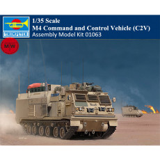 Trumpeter 01063 1/35 Scale M4 Command and Control Vehicle (C2V) Military Plastic Assembly Model Kits