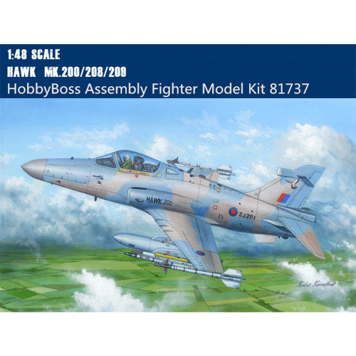 HobbyBoss 81737 1/48 Scale British Hawk MK.200/208/209 Fighter Military Plastic Aircraft Model Building Kits
