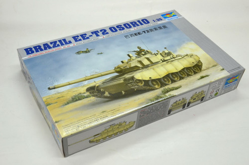 Trumpeter 00333 1/35 Scale BRAZIL EE-T2 OSORIO MBT Main Battle Tank Military Plastic Assembly Model Kits