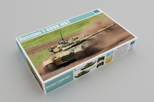 Trumpeter 09578 1/35 Scale Russian T-80UK MBT Main Battle Tank Military Plastic Assembly Model Kits