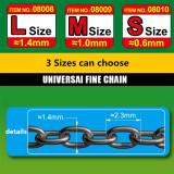 Master Tools 08008/08009/08010 40cm/30cm Universal Fine Chain L/M/S Size Model Accessory