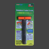 Master Tools 09977 Stainless T Ruler Small Size 100mm Hobby Craft Tool
