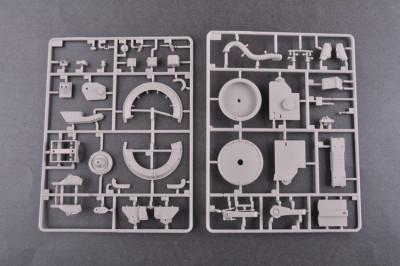 Trumpeter 09550 1/35 Scale Russian 5V28 of 5P72 Launcher SAM-5 Gammon Military Plastic Assembly Model Kits