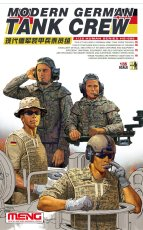 Meng HS-006 1/35 Scale Modern German Tank Crew Soldiers Figures Plastic Assembly Model Kit