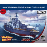 Meng WB-005 Warship Builder Hood Q Edition Plastic Assembly Model Kits