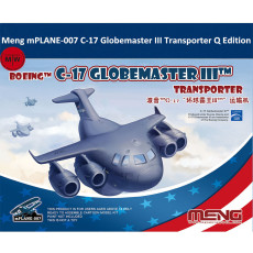 Meng mPLANE-007 C-17 Globemaster III TM Transporter Q Edition Plastic Assembly Model Kits