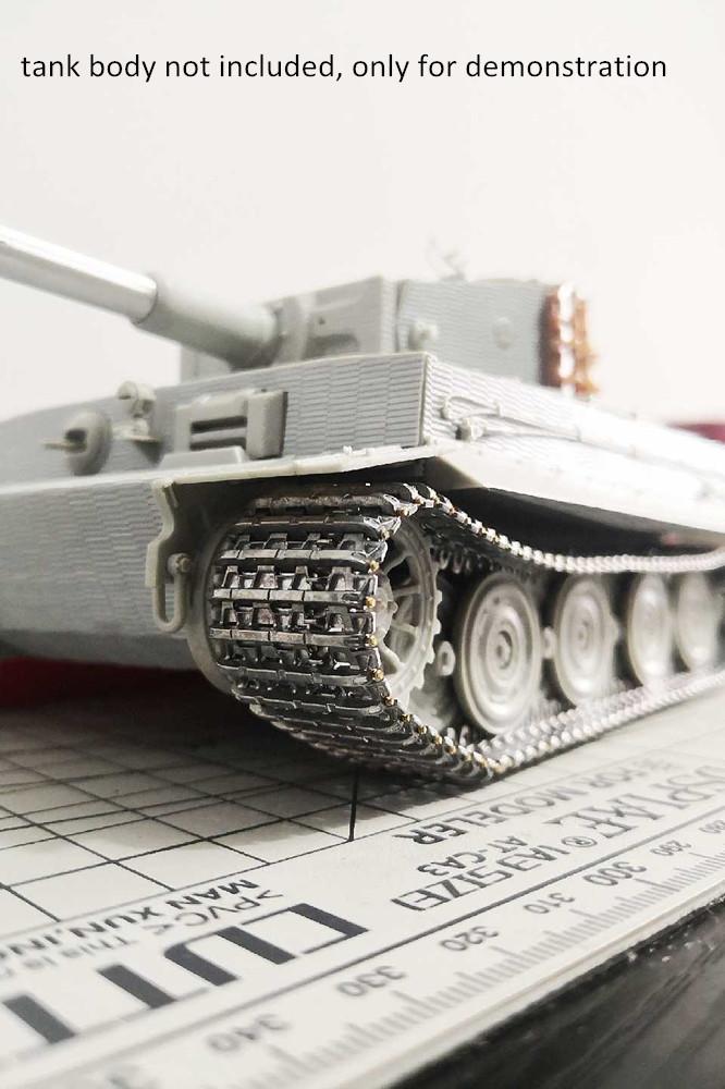 1/35 Scale Metal Track Links w/metal pin for German Tiger I Tank Model Kit SX35020