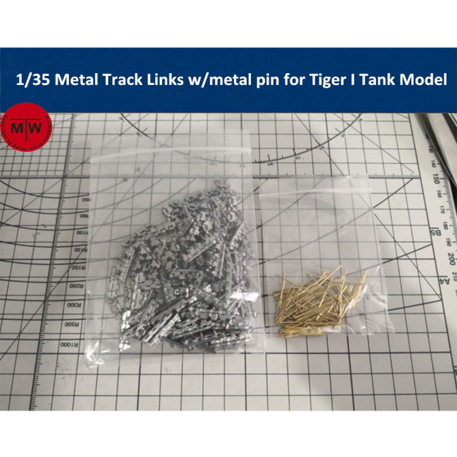 1/35 Scale Metal Track Links w/metal pin for German Tiger I Tank Model Kit SX35020