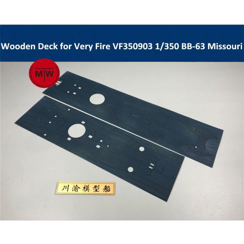 1/350 Scale Blue Wooden Deck for Very Fire VF350903 USS BB-63 Missouri Battleship Model Kit CY350039B