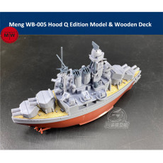 Meng WB-005 Warship Builder Hood Q Edition Cute Assembly Model Kits & Wooden Deck