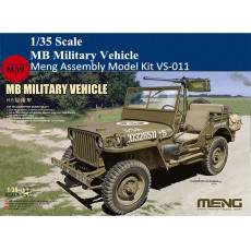 Meng VS-011 1/35 Scale MB Military Vehicle Plastic Assembly Model Kit
