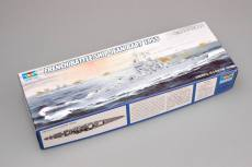 Trumpeter 05752 1/700 Scale French Battleship Jean Bart 1955 Military Plastic Assembly Model Kits