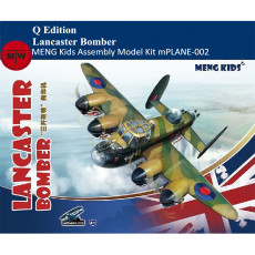 Meng Kids mPLANE-002 Lancaster Bomber Q Edition Plastic Assembly Model Kits