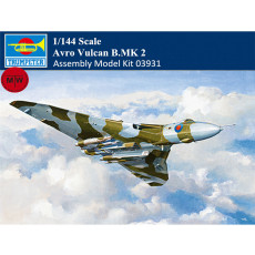 Trumpeter 03931 1/144 Scale Avro Vulcan B.MK 2 Military Plastic Aircraft Assembly Model Kits