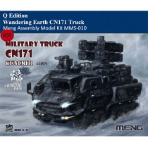 MENG Kids MMS-010 Wandering Earth CN171 Military Truck Q Edition Plastic Assembly Model Kits