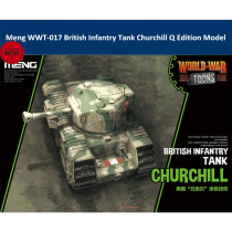 Meng WWT-017 British Infantry Tank Churchill Q Edition Plastic Assembly Model Kits