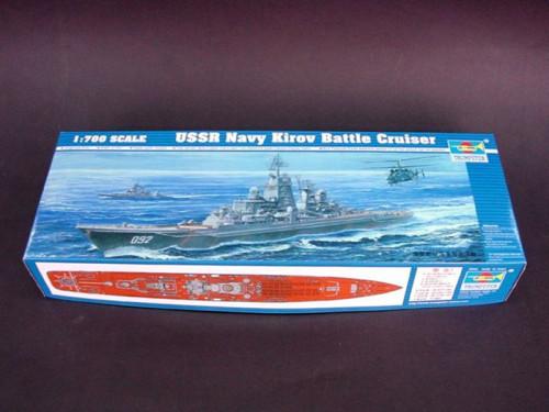 Trumpeter 05707 1/700 Scale USSR Navy Kirov Battle Cruiser Military Plastic Assembly Model Kits