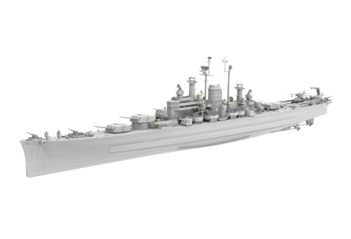 Very Fire VF350918 1/350 Scale USS Des Moines CA-134 Heavy Cruiser Military Plastic Assembly Model Kits