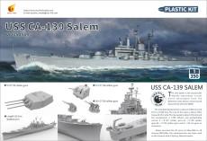 Very Fire VF350919 1/350 Scale USS Salem CA-139 Heavy Cruiser Military Plastic Assembly Model Kits