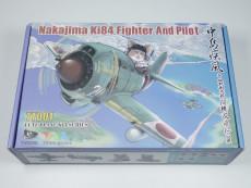 Tiger Model TT001 Nakajima Ki84 Fighter w/Resin Pilot Q Edition Plastic Assembly Model Kits