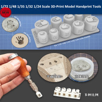 LIANG-0404 1/72 1/48 1/35 1/32 1/24 Scale 3D-Print Model Handprint Tools