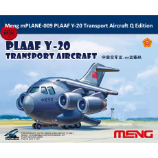 Meng mPLANE-009 PLAAF Y-20 Transport Aircraft Q Edition Plastic Assembly Model Kit